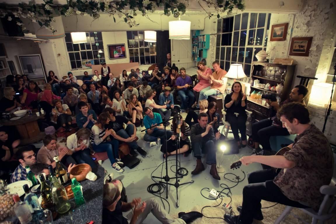 secret living room concerts rookerville