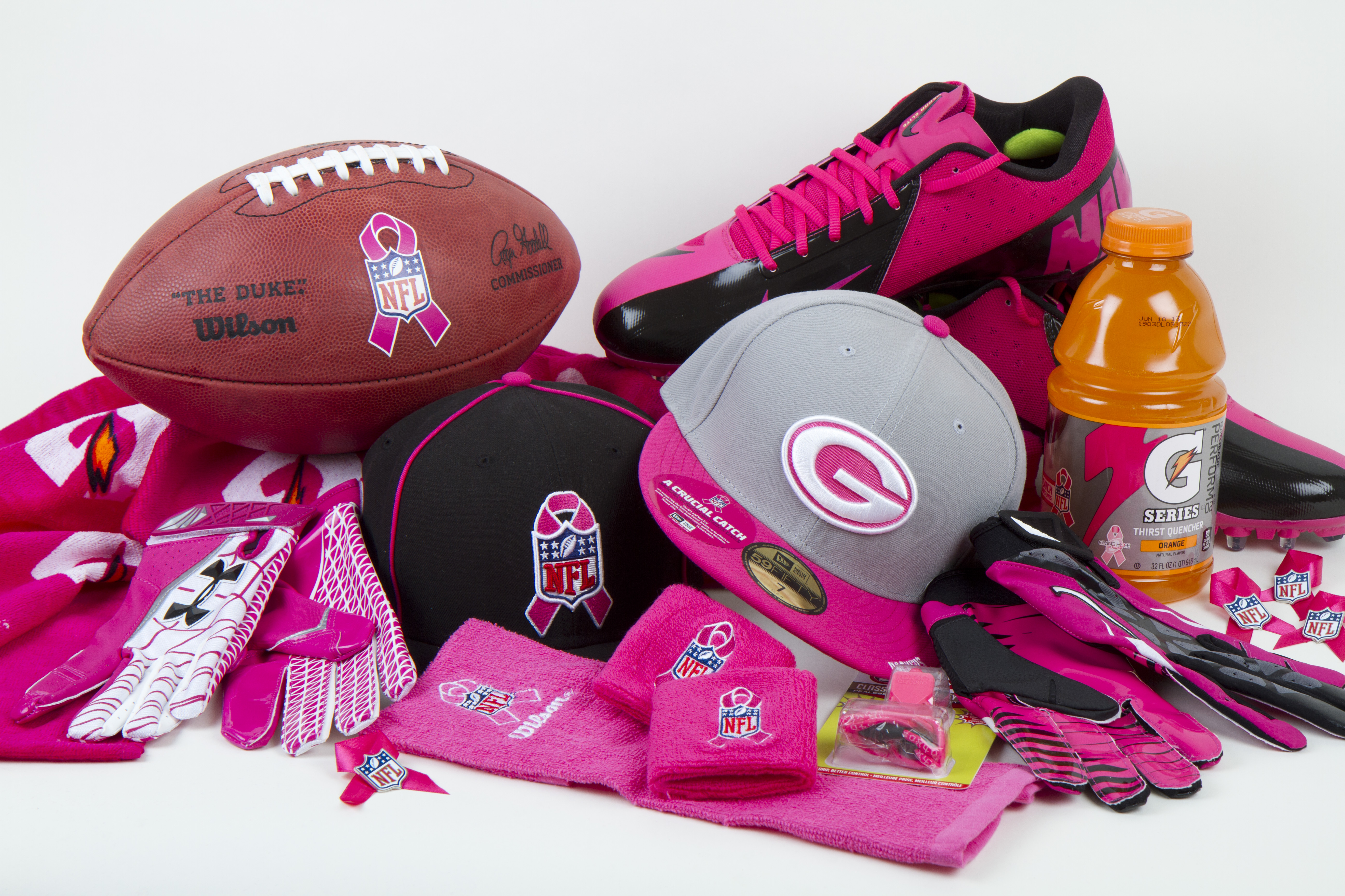 The nfl and breast cancer good bad or both rookerville for Breast cancer nfl shirts