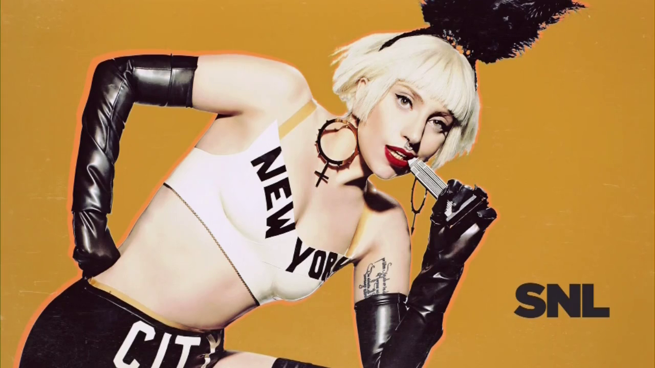 Gaga Does SNL