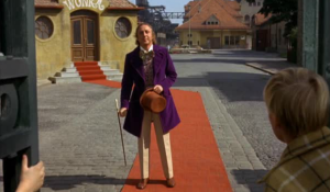 Willy Wonka appears