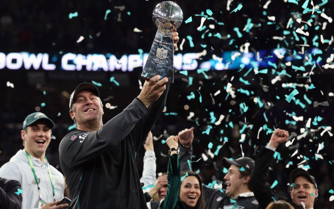 LII: Eagles Upset Patriots to Win first Super Bowl